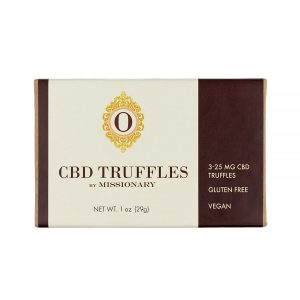 O by Missionary 3 Piece Box of CBD Truffles