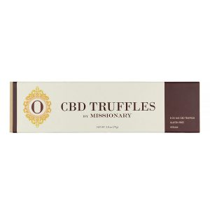 O by Missionary 8 Piece Box of CBD Truffles